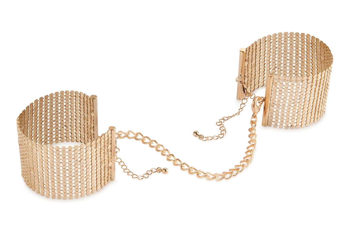 Bijoux Indiscrets Desir Metallique Handcuff Bracelets - $35