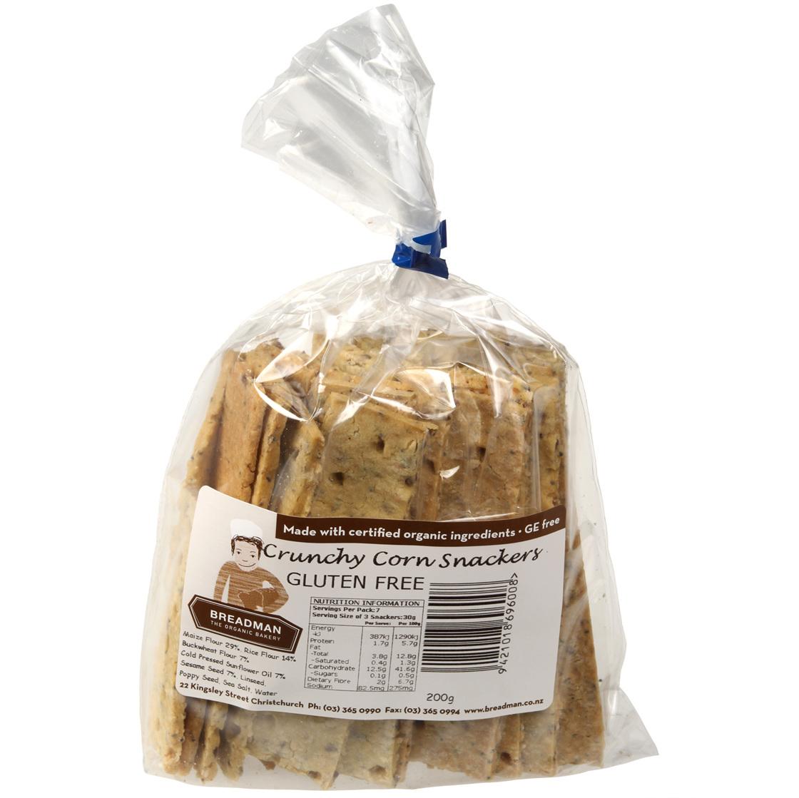 corn snackers bagged