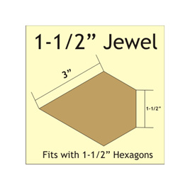 "1 1/2 "" Jewel  - 264 Pieces"