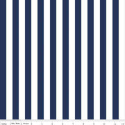 "1/2"" Stripe Navy"