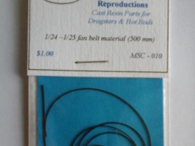 1/24-/125 Fan Belt material (500mm)