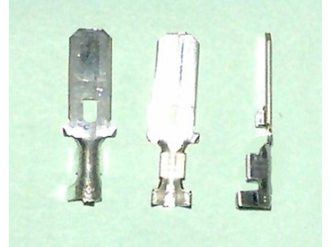 1/4 inch male spade contact