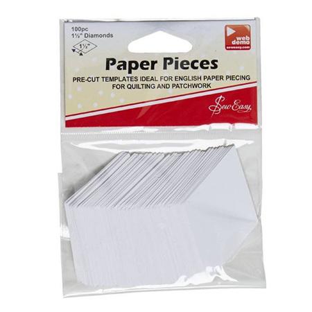 "1"" Diamond Paper Pieces"