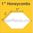 1 inch honeycomb 600 pieces
