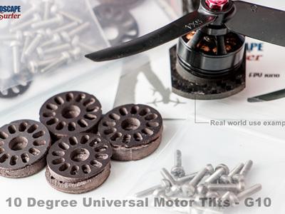 10 Degree Universal  Motor Tilts - G10