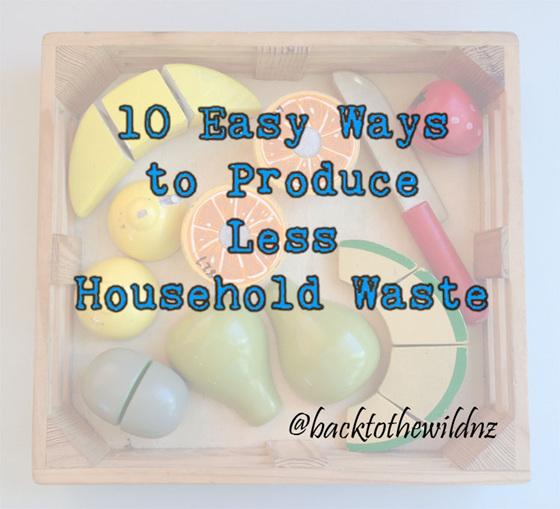 10 easy ways less household zero waste free nz