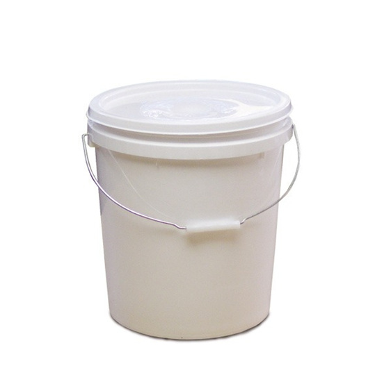 10 litre food grade plastic bucket and lid