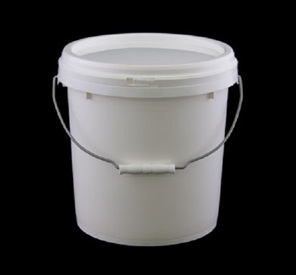 10 litre food grade plastic buckets and lids