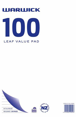 100 Leaf Value Pad