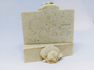 100% Natural Oatmeal Soap