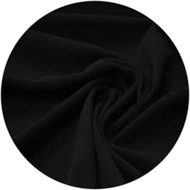 "100% NZ Merino Wool, ""Black"",  160 gsm"