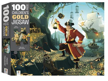 100 Piece Jigsaw Pirate Treasure