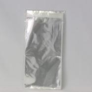 100 resealable medium cellophane bags - resealable 120x220x40mm