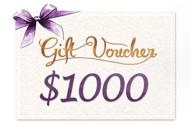 $1000 Gift Voucher