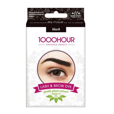 1000 Hr Lash & Brow Dye Natural Blk