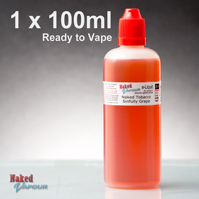 100ml - Ready to Vape - Naked Vapour e-Liquid
