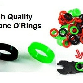 100Pcs Silicone O-rings for Tattoo Machine