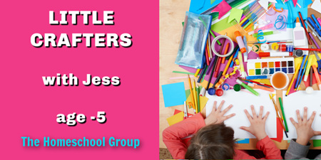 1:00PM CLASS (Little Crafters)