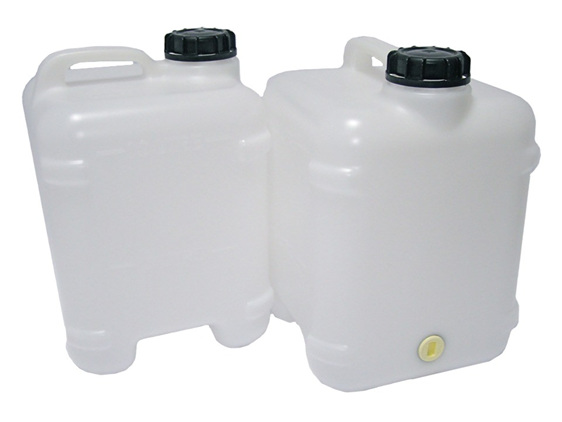 10L Water Canister (2 Pack) & Tablets