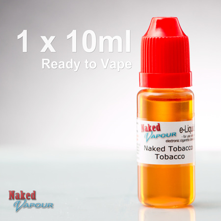 10ml - Ready to Vape - Naked Vapour e-Liquid