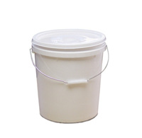 10x10L Food Grade Plastic Bucket / Lid