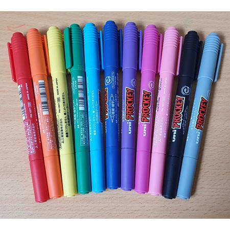 11 x Prockey Pens with Novelty Case