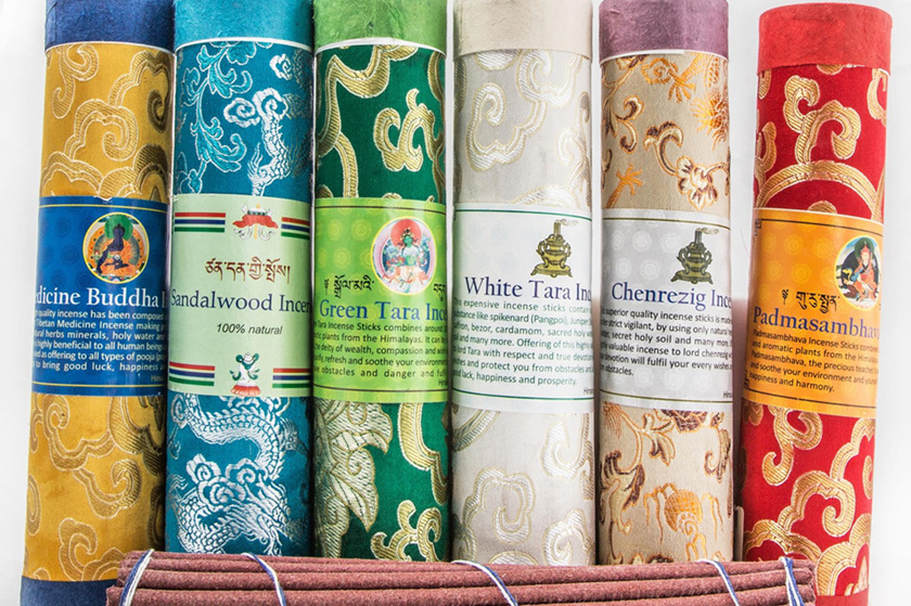 Tibetan Brocade Incense Range