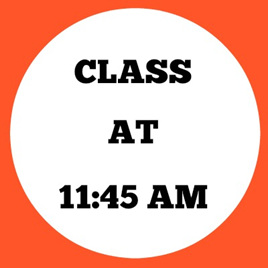 11:45AM CLASS (Little Dancers -5s)