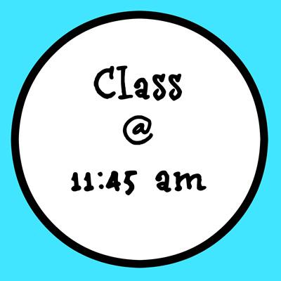 11:45AM CLASS (Little Dancers -5s)
