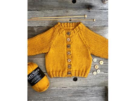 117 March Cardigan Knitting Pattern