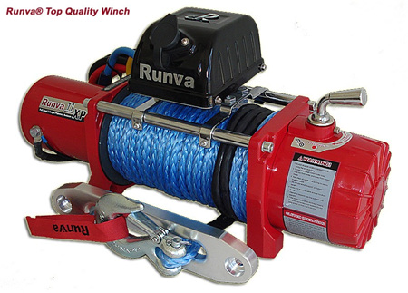 11XP (11,000lb) 12V / 24V Winch (Dyneema)