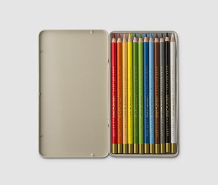 12 Colour Pencils - Printworks