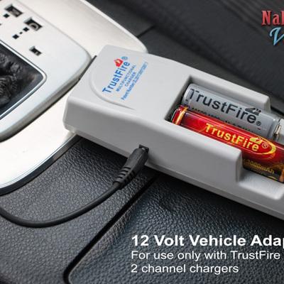 12 Volt Vehicle Adapter
