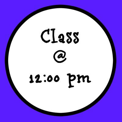12:00 PM CLASS (Ballet Magic 5plus)
