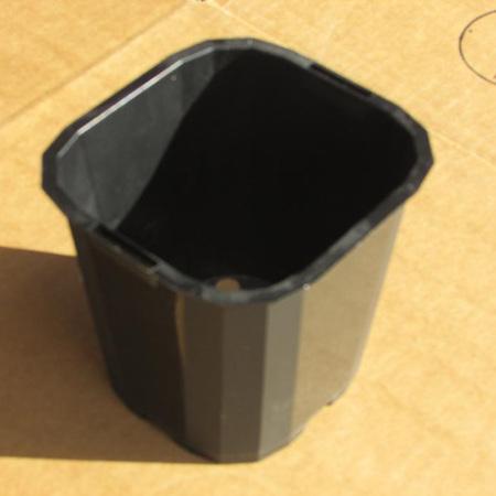 120mm Square TAG Pot Black