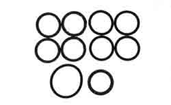 122132 Gasket kit for water pipe fits Volvo 30 series