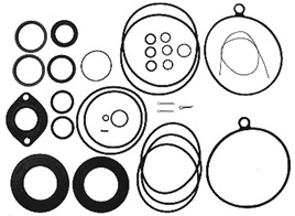 122191 Gasket Kit fits Volvo Stern Leg Upper Gear Unit