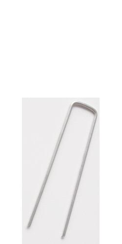 130mm Galvanised Ground Vapour Barrier Staples (50 staples per pack)
