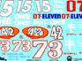 Slixx Sheet NS-H/1328 Numbers