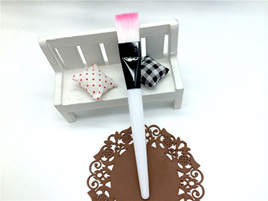 14cm White Makeup Brush