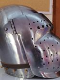 Helmet 17 - 14th to 15th Century Visored Bascinet Type 5