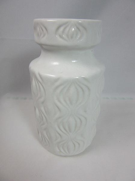 15cm White Amsterdam Design Vase by Scheurich West Germany