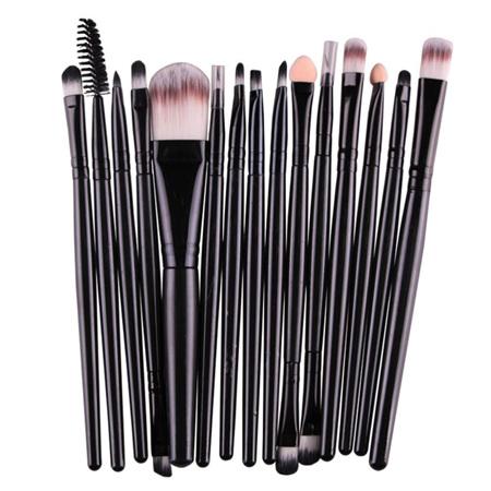 15pc Cosmetic Brush Set *Black #1*