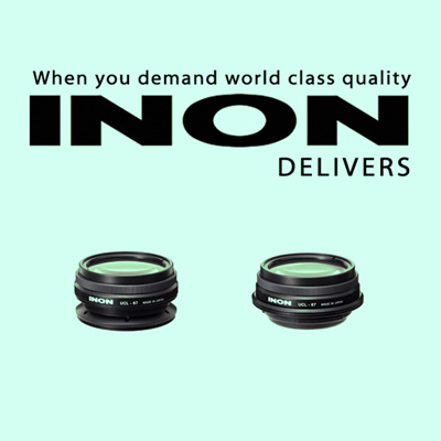 16 February 2017: INON UCL-67 M67/UCL-67 LD Underwater Close-up Lenses