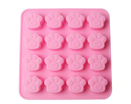 16 PAWS SILICONE MOULD
