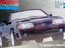 Monogram 1/24 91 Mustang GT Convertible