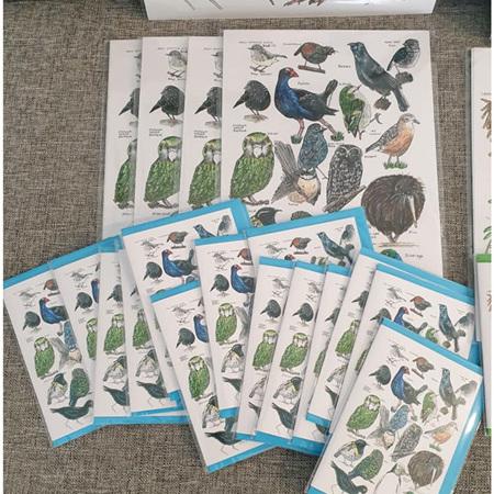 18 Native Birds Greeting Card