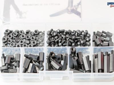 180 Piece M3 Nylon  - Assortment Box