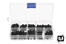 180 Piece M3 Nylon Screw And Stand-off Kit