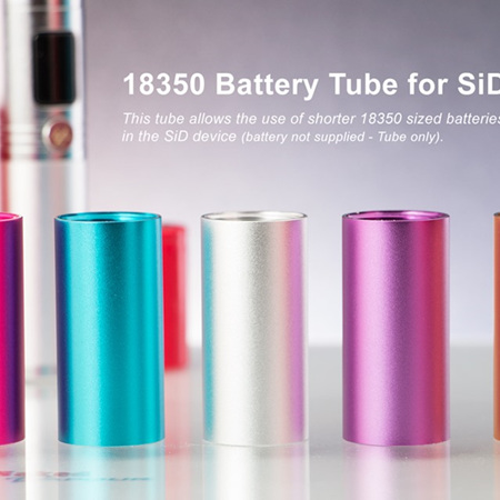 18350 Battery Tube - SiD